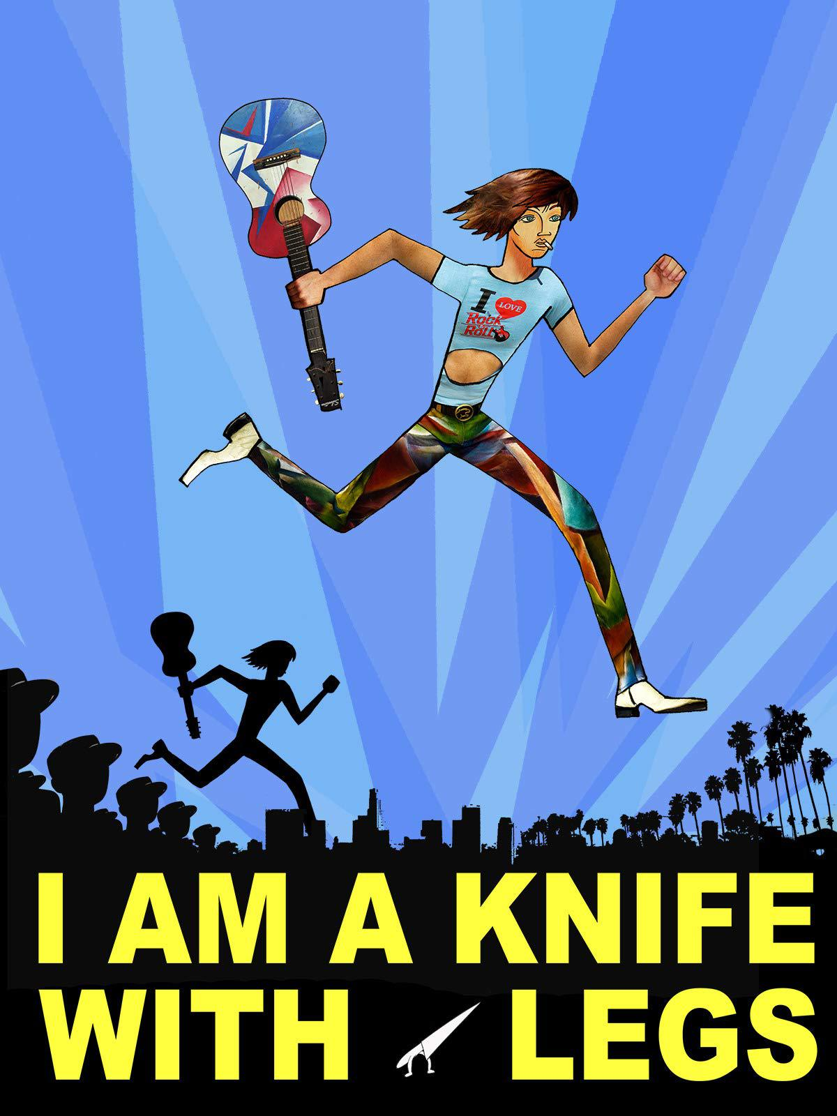 I am knife with legs